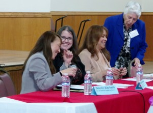 Presenters at conference with Sr. Gloria Loya, far right
